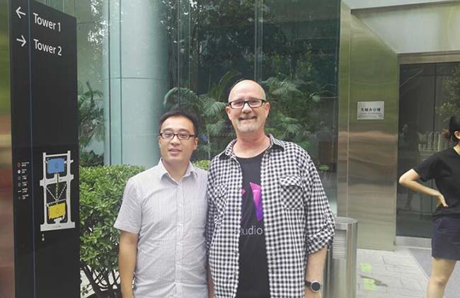 岳英俊老师赴北京参加IXDC大会第一站——微软之行